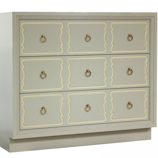 Kindel Furnitureu0027s Dorothy Draper Espana Bunching Chest In Putty | Furniture  | Pinterest | Dresser, Drawers And Decorating