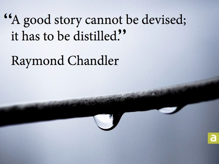 Raymond Chandler #Distilled, #Story