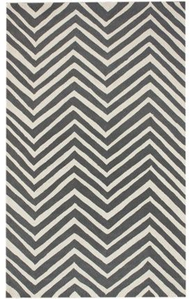 Got this rug for 75% off at rugsusa! Chevron is being over used lately in my opinion but I really liked how this chevron wasn't perfect.