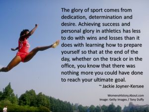 Quotation by Shirley Chisholm, part of a collection of quotes by African American women.: Jackie Joyner-Kersee Quote