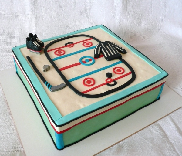 Ice Hockey Cake Decorations Uk : 25+ best ideas about Hockey cakes on Pinterest Hockey ...