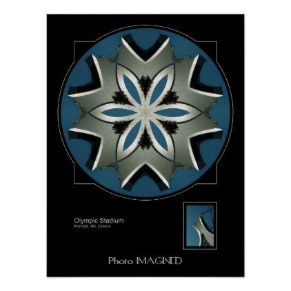 OLYMPIC STADIUM MONTREAL QC CANADA POSTER - image gifts your image here cyo personalize