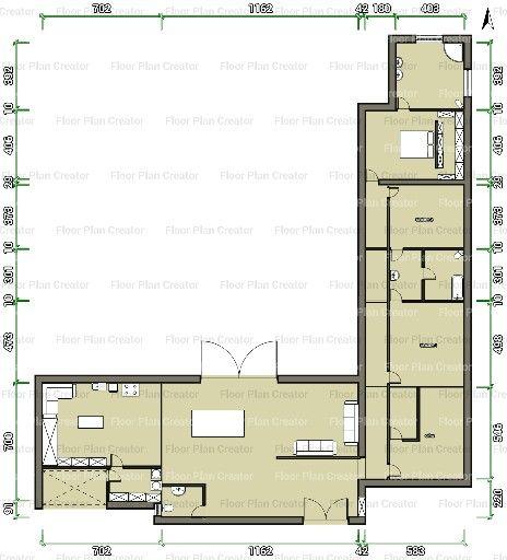 25 beste idee n over bungalow plannen op pinterest for Shouse house plans