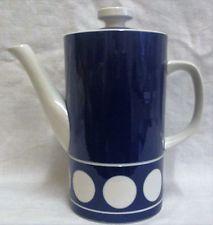 1960's Vintage TG Green Judith Onions 'Jersey Blue' Coffee Pot