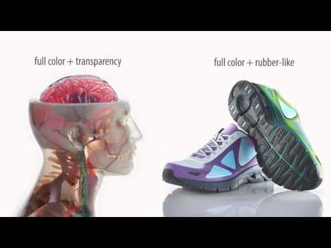 3D Printing in 360,000 Colors: the New Stratasys J750 - YouTube
