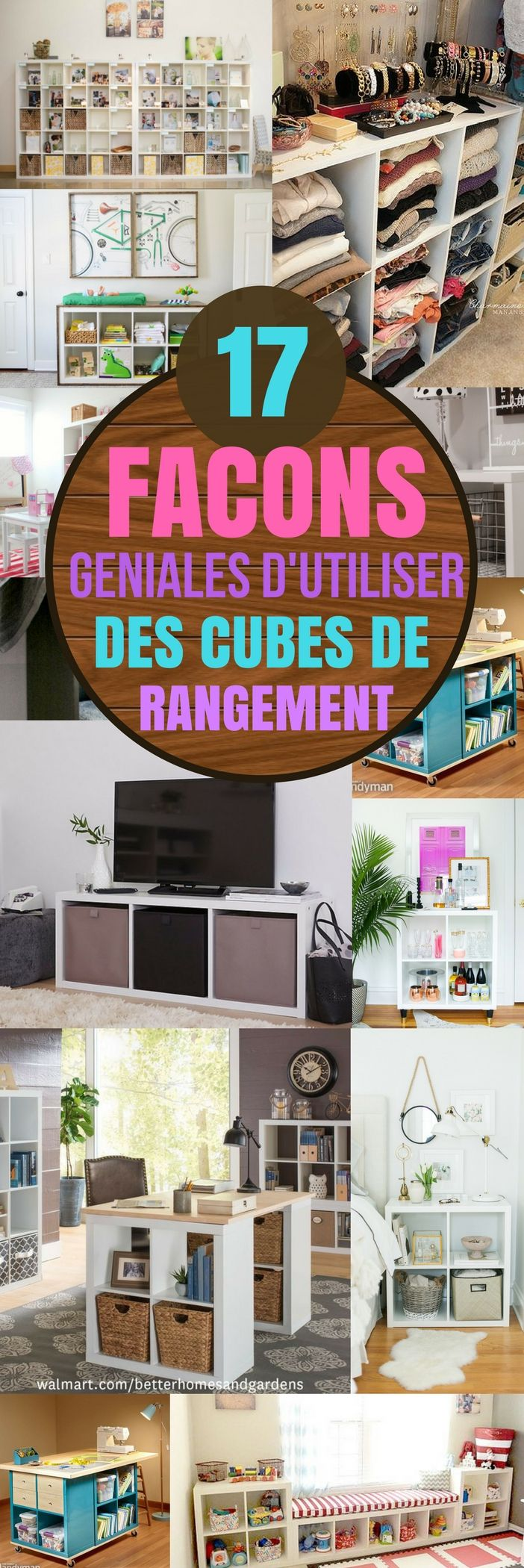 best 25 cubes ideas on pinterest diy storage cubes. Black Bedroom Furniture Sets. Home Design Ideas