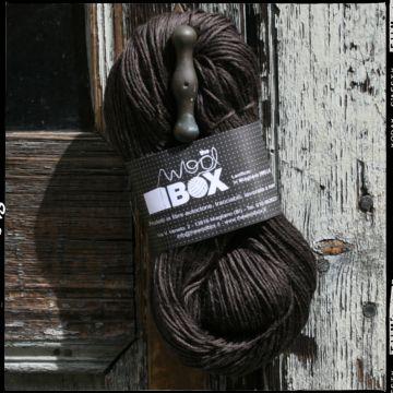 Filato a 4 capi realizzato in 100% lana pettinata, in un caldo colore cioccolato, 100g=240m ca. ferri consigliati n 3/4. Morbido al tatto e lucido. alla vista. Adatto per realizzare maglioncini leggeri, scialli, coprispalle estivi, calze.