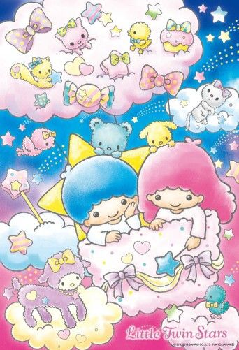 little twin stars wallpapers easter