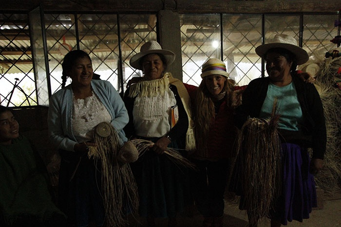 Florencia & the Women of the Azuay province!
