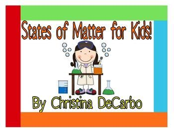 This is a HUGE science unit packed with over 13 activities, including 5 science experiments you can use to teach your students about the states of ...Kids Learning, Teachersnotebook Com, Sight Words, Matter Experiments For Kids, Schools Science, Teaching Ideas, States Of Matter, Passages Version, Sugar And Spices