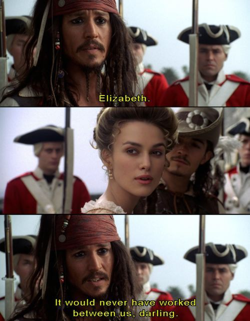 Pirates of the Caribbean: Curse of the Black Pearl Quote