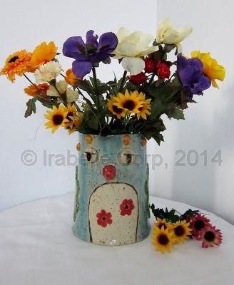 Handmade pottery Bird Vase by Tulipe Studios.  See more at:  https://www.facebook.com/TulipeStudios