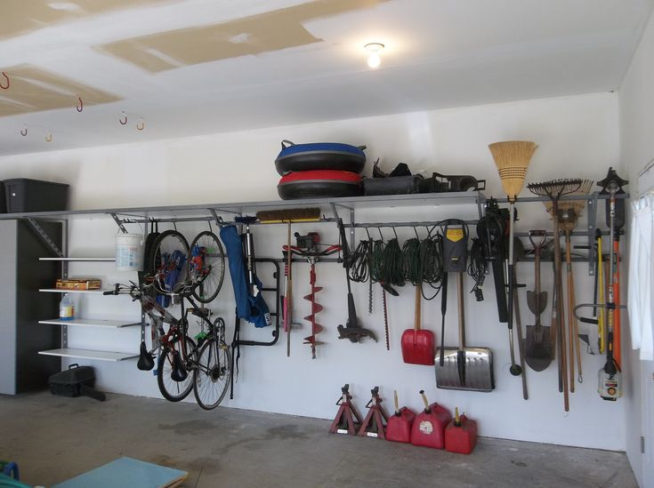 The Monkey Bars Storage System Allows Homeowners To Maximize Floor Space  And Minimize Clutter. Garage Part 65