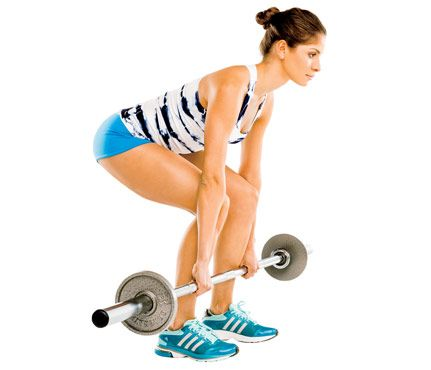 How to Do a Dead Lift: Workouts: Self.com : Think of this move as death to a droopy booty! Crossfit coach Megan May breaks it down. via @Sara Self Magazine