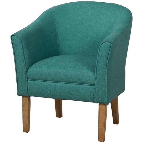 Kinfine Chunky Textured Accent Chair, Teal ($141) ❤ liked on Polyvore featuring home, furniture, chairs, accent chairs, teal chair, teal blue accent chair, chunky furniture, teal accent chair and teal blue chairs