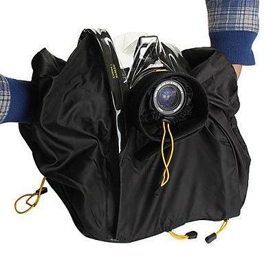 câmera+protetor+capa+de+chuva+para+SLR+digital+com+até+objectiva+de+200mm+(tamanho+grande)+–