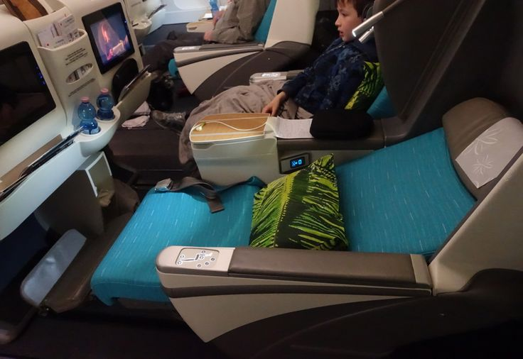 Review: Air Tahiti Nui Business Class A340-300 #TravelSort