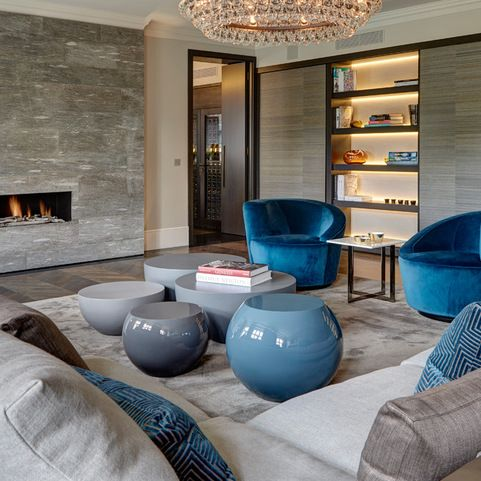 Knightsbridge Penthouse - contemporary - Living Room - London - Staffan Tollgard Design Group London Land Group