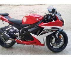 Suzuki Gsxr 600 Model 2013 Heavy Bike Red Color For Sale In Gujrat