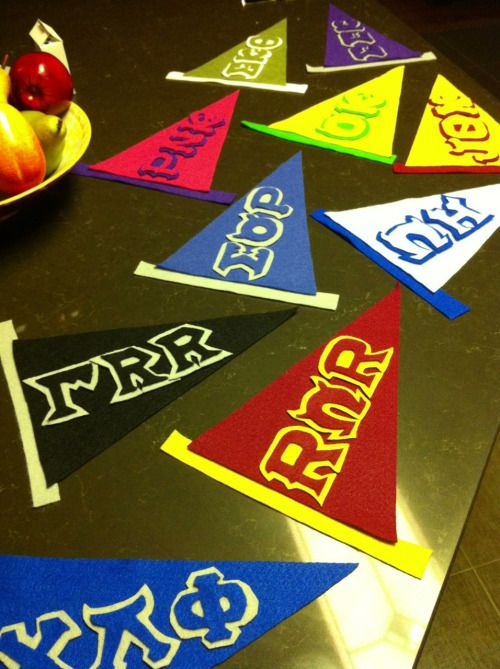 Cake Decorations Fraternities