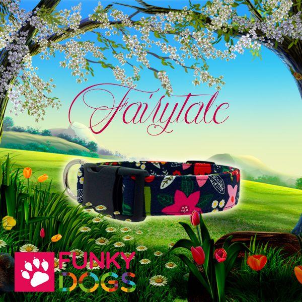 Met deze hondenhalsband met opdruk van bloemen krijgt jouw hond een unieke halsband van uitstekende kwaliteit. Ze zijn handgemaakt van 100% katoen en kunnen goed in de wasmachine worden gewassen op een handwas programma.