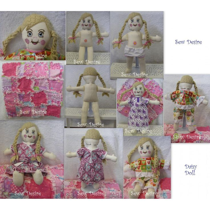 Daisy Doll pattern from Oma's Place