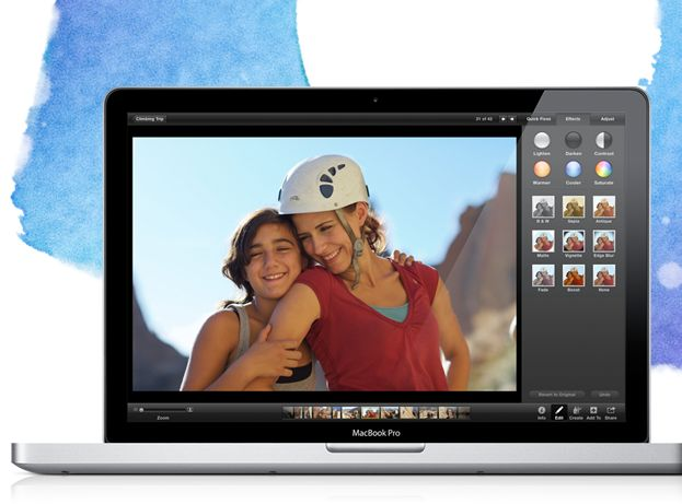 iPhoto 11...  LOVE it!!!  Apple - iPhoto - New full-screen views, emailing photos, and more.