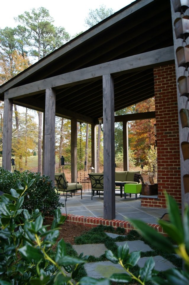 17 best images about outdoor living on pinterest outdoor for Rustic porches and decks