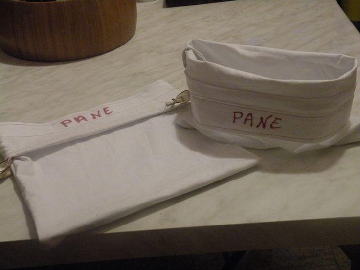 Cestini porta pane - cestino sacchetto per il pane - un prodotto unico di bandullera su DaWanda