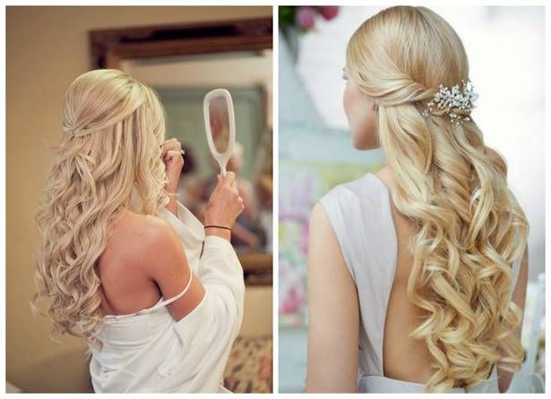 Wonderful Wedding Hairstyles For Long Hair 1 Wonderful Wedding Hairstyles For Long Hair