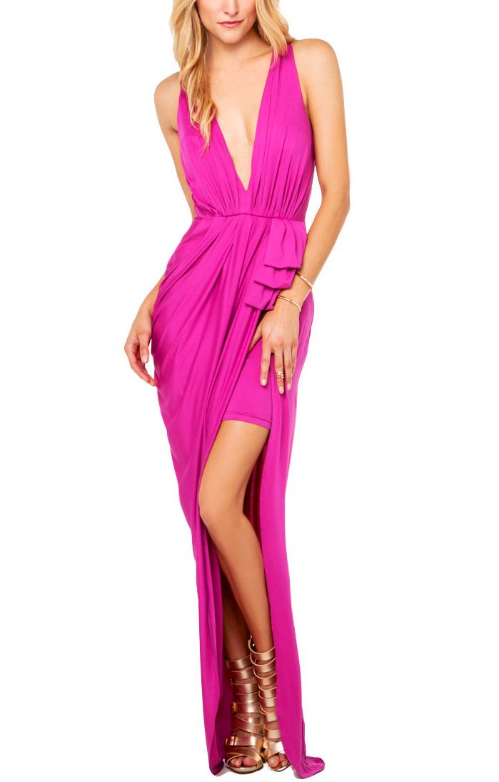 41 best magenta images on Pinterest   Cute dresses, Feminine fashion ...