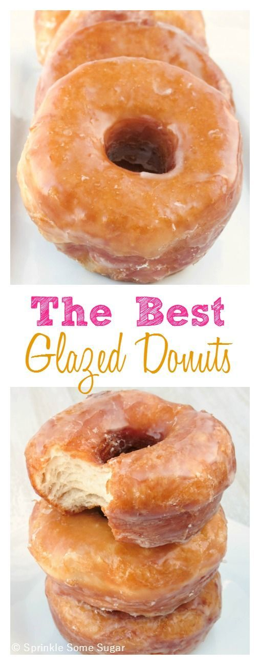 The best and easiest glazed donuts ever. You won't believe what the secret ingredient is!