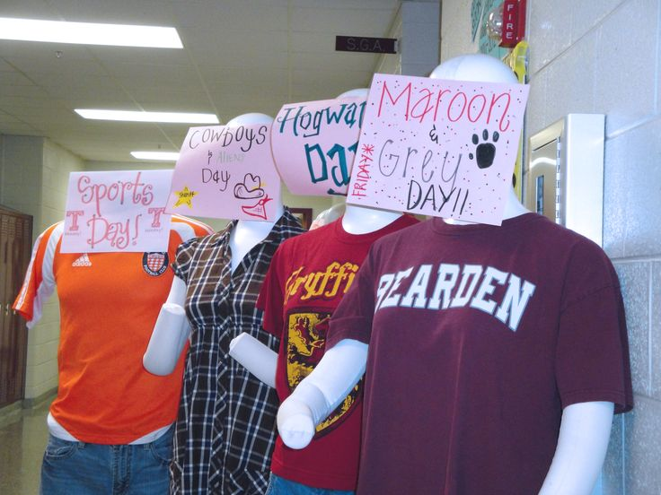 High School Spirit Week Ideas http://www.tattoopins.com/1632/-spirit ...