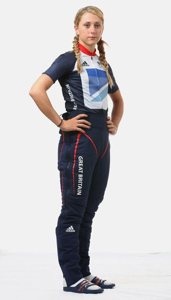 Laura Trott Photos: adidas Olympic Media Lounge At Westfield