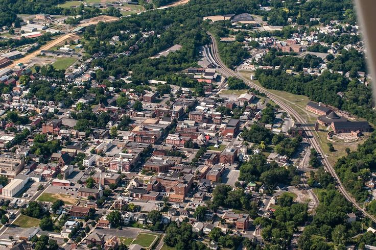 La Belle Photography Martinsburg Wv: Martinsburg, West Virginia Aerial View.