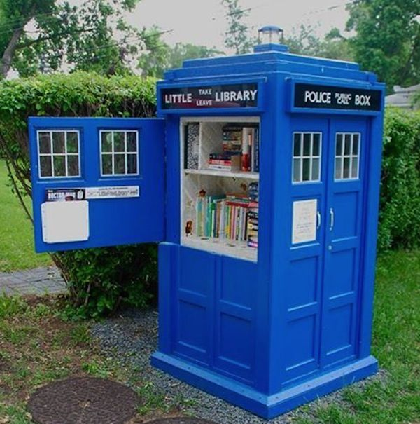 9 Incredible Sci-Fi Inspired Little Free Libraries - Shareable
