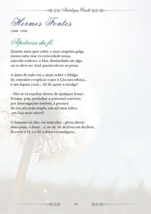 Antologia Cristã Florbela Espanca (Portugal 1894 – 1930) Escrava Ó meu  Deus 63f24f2405d7d
