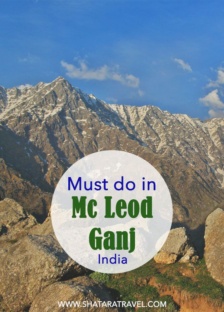 Find out what you mustn't miss in Mcleod Ganj. All about the home of the Dalai Lama in McLeod Ganj: Top Picks! #travel #india #travel #mcleodganj #dharamsala #culture #religon #wanderlust #bucketlist #dalailama #hindu #backpacking #budget