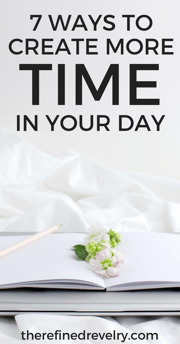 Seven organisational time-savers