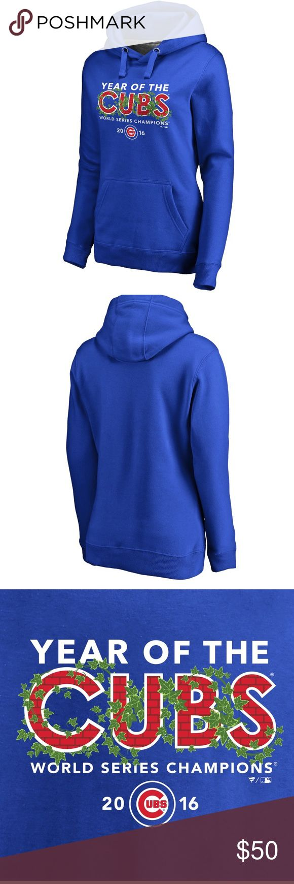NWT! Chicago Cubs! Fanatics hoodie! Medium! NWT! Chicago Cubs! Fanatics hoodie! Medium! Just in time for opening day! fanatics Tops Sweatshirts & Hoodies