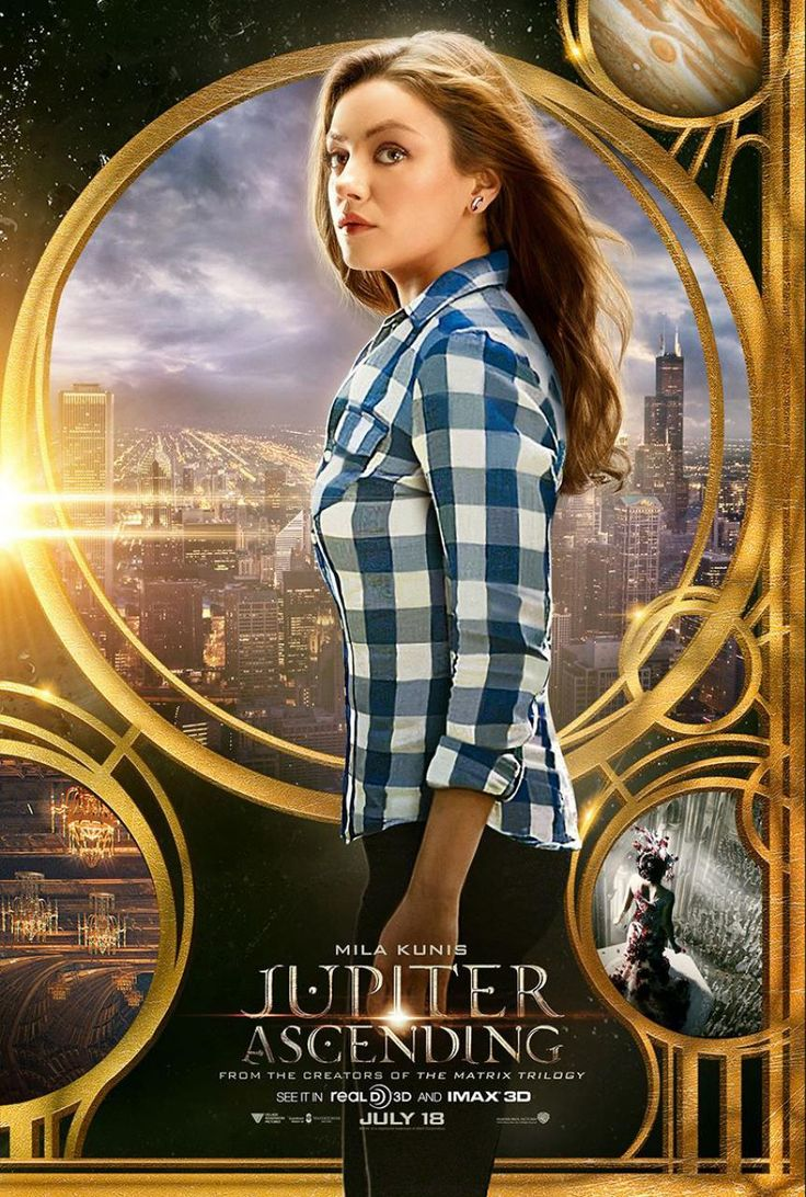 JINUA,DRAMASTYLE Jupiter Ascending and Channing Tatum  , the film is centered on Jupiter Jones (Kunis), an ordinary cleaning woman, and Caine Wise (Tatum), an interplanetary warrior who informs Jones that her destiny extends beyond Earth. Supporting cast member Douglas Booth  has described the film's fictional universe as a cross betweenThe MatrixandStar Wars,while Kunis named indulgenceand consumerism  as its underlying themes.Grant Hill  , who acted as executive producer  onThe Matrix…