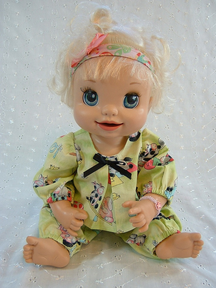 Cabbage Patch Preemie Baby Alive Doll Clothes Pajama