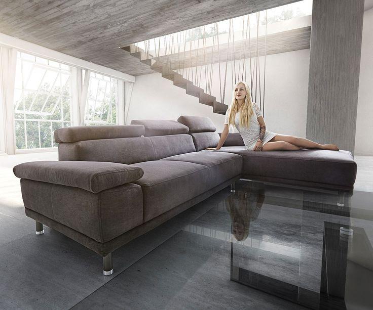 Die besten 25+ Große ottomane Ideen auf Pinterest cremefarben - grose couch kleines wohnzimmer