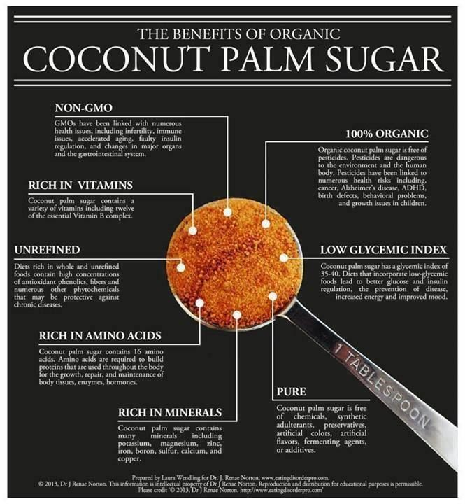 Coconut Palm Sugar and Fructose - this sweeten... - Janella Purcell
