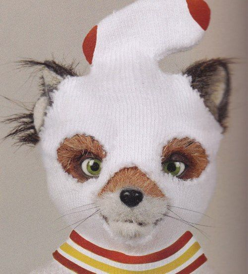 "You should probably put your bandit hat on now. Personally, I- I don't have one, but I modified this tube sock."" (Fantastic Mr. Fox. Excellent movie.) and yet another great quote! and idea for a photo :D"