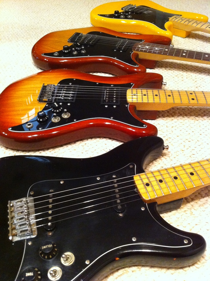 Fender Lead collection. Underrated guitars from the '80s.