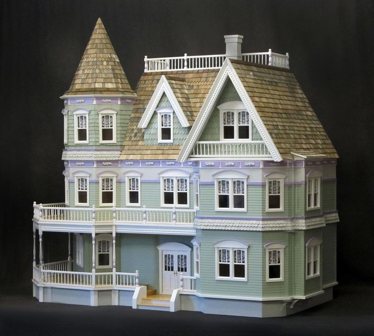 Best 25 queen anne houses ideas on pinterest beach for Victorian style kit homes