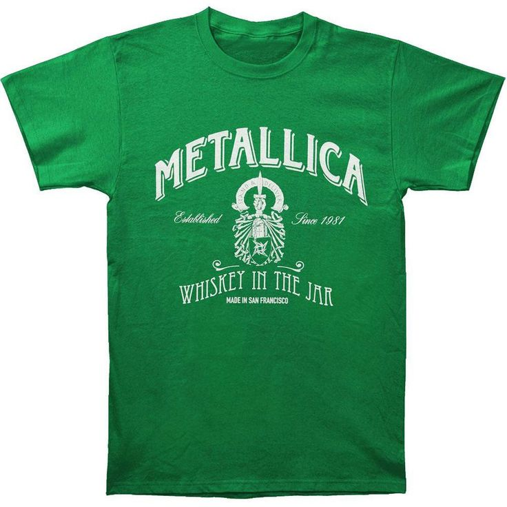 Metallica - Whiskey in the Jar Adult T-Shirt
