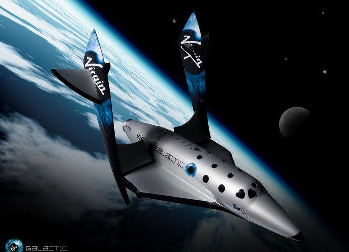 Космический челнок SpaceShipTwo от Virgin Galactic