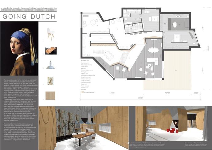 Young Interior Designer Award  Martina Tararuj - Finalist